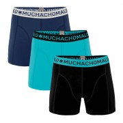 Muchachomalo 3-Pack Men Shorts Solid 228-L