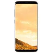 "Telefon Mobil Samsung Galaxy S8 G950FD, Procesor Octa-Core 2.3GHz / 1.7GHz, Super AMOLED Capacitive touchscreen 5.8"", 4GB RAM, 64GB Flash, 12MP, 4G, Wi-Fi, Dual Sim, Android (Maple Gold) + Cartela SIM Orange PrePay, 6 euro credit, 6 GB internet 4G, 2,000"