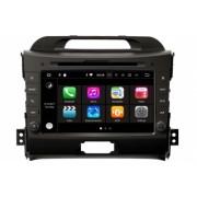 Navigatie dedicata caraudiomarket Kia Sportage 2010-2015 cu Android platforma S200