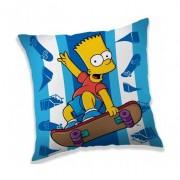 A Simpson család párna díszpárna kék