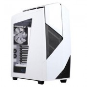 Кутия nzxt noctis 450 white/blue led, mid tower, nzxt-case-n450w-w1