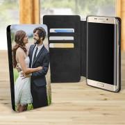 Husa flip personalizata Galaxy S6 edge+