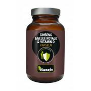 Gelée Royale + Ginseng Rouge + Vitamine D2 - 90 gélules - 500 mg