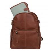 Cowboysbag Luiertas Diaper Backpack Oburn Bruin