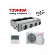 Duct Toshiba 48000 BTU inverter RAV-SM1606BT-E + RAV-SM1603AT-E
