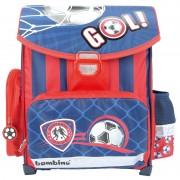 Lekki tornister szkolny dla chłopca BAMBINO piłka nożna