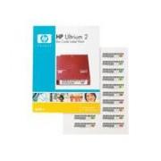 HPE Ultrium 2 - Streckkodsetiketter - för StorageWorks MSL2024,