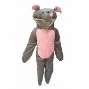 Kaku Fancy Dresses Elephant Wild Animal Costume -Grey for Boys Girls