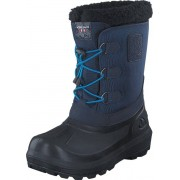 Viking Istind Mid Blue/Black, Skor, Kängor och Boots, Varmfodrade kängor, Blå, Barn, 38