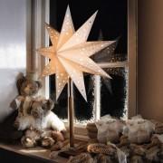 Beautiful star Solvalla as table light, 45 x 64 cm