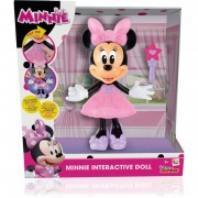 Papusa Minnie interactiva, canta si interactioneaza, 2 ani+