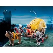 Trasura cavalerilor ordinului Soim Playmobil