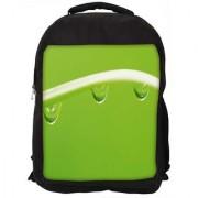 Dew Drops Digitally Printed Laptop Backpack