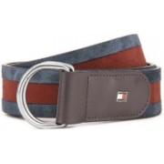 Tommy Hilfiger Men Blue, Red Belt