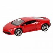 Lamborghini Speelgoed rode Lamborghini Huracan LP610-4 auto 12 cm