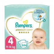 Pampers Premium Care pelenka, Maxi 4, 9-14 kg, HAVI PELENKACSOMAG 104 db