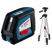 Nivela laser cu linii Bosch GLL 2-50 + BS 150