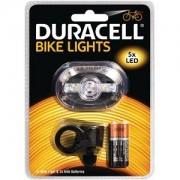 Duracell Lampe avant de vélo Duracell - 5 LED (BIK-F03WDU)