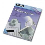 B/w Laser Transparency Film W/o Sensing Stripe, Letter, Clear, 50/box