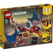 Lego Creator (31102). Drago del fuoco