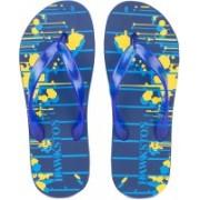 Hawkston Hawai-Globe-Navy Slippers