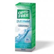 Alcon / Ciba Vision Solutie intretinere lentile de contact Opti-Free Pure Moist 300 ml + suport lentile cadou