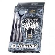 Harrows Silver Shark fém hegyes darts készlet STEELTIP