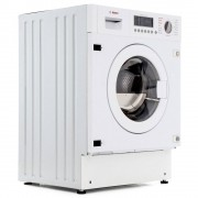 Bosch Serie 6 WKD28541GB Integrated Washer Dryer - White