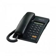 Teléfono análogo Panasonic KX-T7705 negro c/identificador
