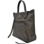 Accezory Women Brown Genuine Leather Hobo