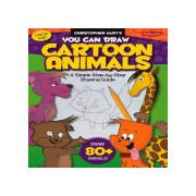 You Can Draw Cartoon Animals - A Simple Step-by-Step Drawing Guide! (Hart Christopher)(Paperback) (9781600586118)
