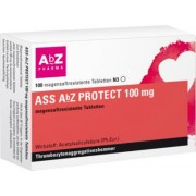 AbZ Pharma GmbH ASS AbZ PROTECT 100 mg magensaftresist.Tabl. 100 St