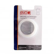 EVA Blister filtru+garnituri silicon Moka aluminiu 3 cesti