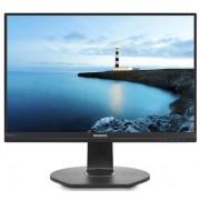"Monitor IPS LED Philips 23.8"" 241B7QUPBEB/00, Full HD (1920 x 1080), VGA, HDMI, DisplayPort, Boxe, 5 ms (Negru)"