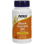 NOW Foods Black Olio di Ribes Nero 500mg 100 softgels