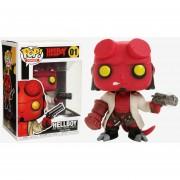 Funko Pop Hellboy con arma Nuevo