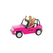 BARBIE AUTO DE PLAYA MATTEL CJD12