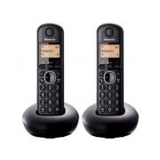 Panasonic Teléfono Inalámbrico Dúo PANASONIC KX-TGB212SPB Negro