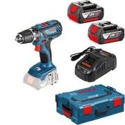 Bosch *GSR 18-2-LI Plus Professional Perceuse-visseuse sans fil 2x4,0 Ah Batteries, L-BOXX - 0615990HH5