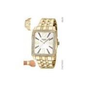 Relógio Champion Feminino Dourado Cn27965h
