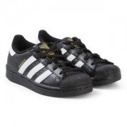 adidas Originals Superstar Foundation Sneakers Svart/Vit Barnskor 33 (UK 1)