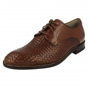 Clarks Mens Clarks Smart Lace Up Shoes Twinley Lace Tan (Brown) UK 8.5