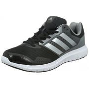 adidas Men's Duramo 7 M Core Black, Silver and Solid Grey Mesh Running Shoes - 9 UK
