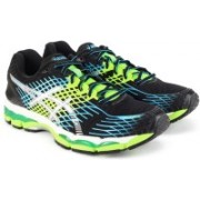 Asics GEL-NIMBUS 17 Running Shoes For Men(Black, Blue)