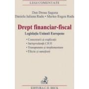 Drept financiar-fiscal - Dan Grosu Saguna Daniela Iuliana Radu