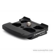 SUNWAYFOTO Specific Plate for Nikon D800 camera PN-D800