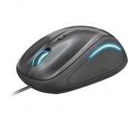 Mouse Trust Yvi FX, compact, Negru