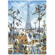 Puzzle Heye - Loup Jean-Jacques: The Eiffel Tower, 1.000 piese (4962)
