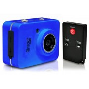 Sound Around Gear Pro HD 1080p Action Cam Hi-Res Digital Camera/Camcorder with Full HD Video, 12.0 Mega Pixel Camera, 2.4'' Touch Screen (Blue)