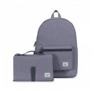 Herschel Wickelrucksack Settlement Sprout Mid Grey Crosshatch